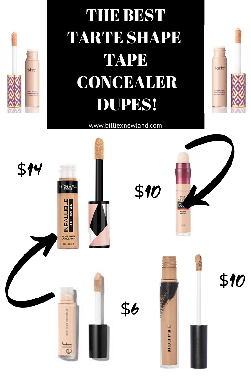 Best Tarte Shape Tapes Concealer Dupes!