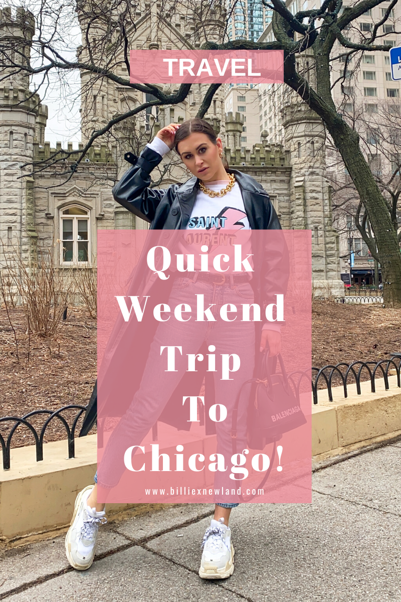 Quick Weekend Trip To Chicago