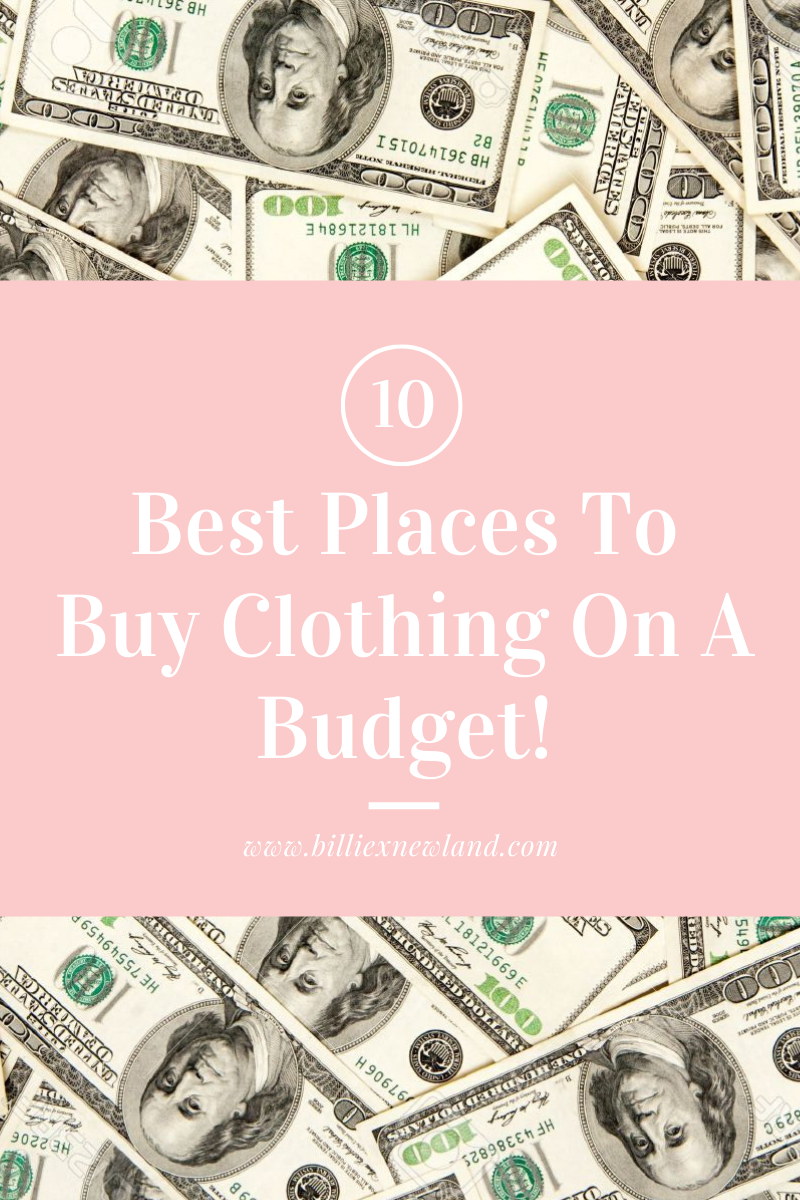10 Best Places To Buy Clothing On A Budget