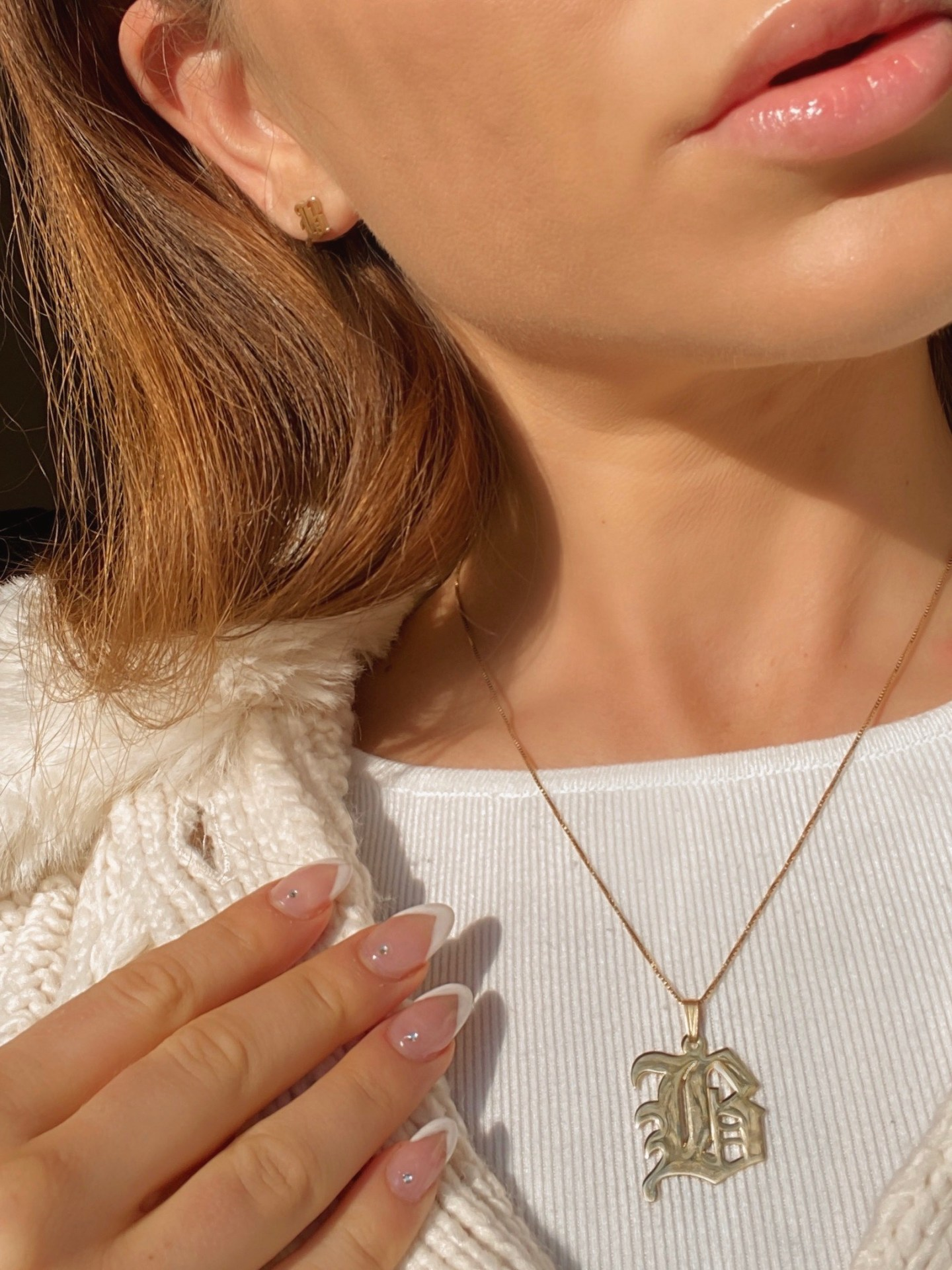 Holiday Personalization With O Necklace